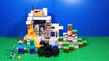 LEGO Minecraft Set 21113 The Cave SET REVIEW!