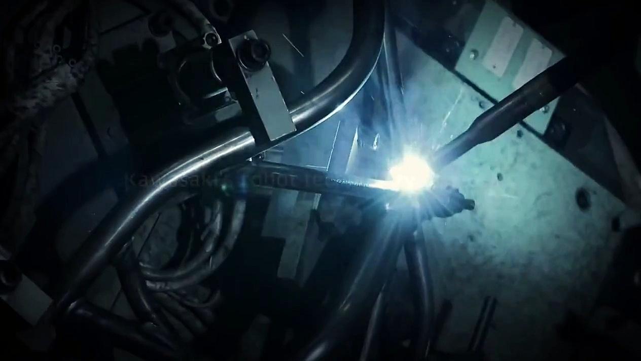 Kawasaki Ninja H2 Motorlar'daki Kawasaki Robot Teknolojisi