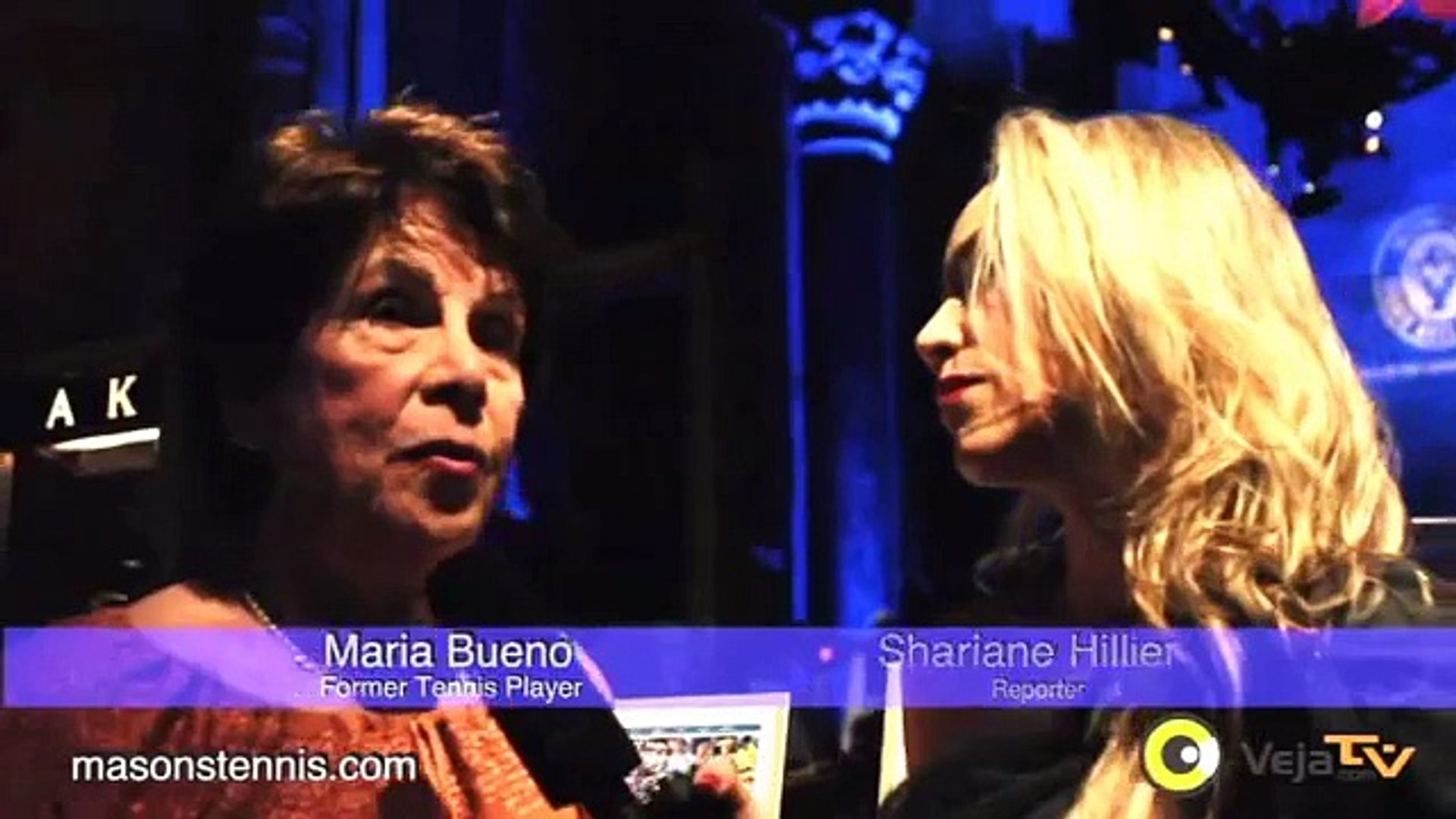 Masons Tennis: Maria Bueno at the International Hall of Fame 2012 NYC