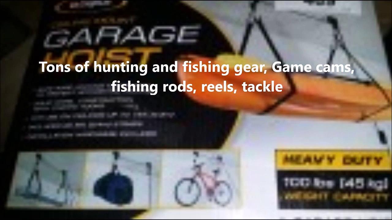 Guns, Hunting, Fishing, Tools, Camping Auction
