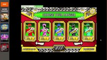 cartoons games 2015 - power rangers dino charge unleash the power level 9 - 12