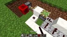 Minecraft Tutorial - 3x3 Piston Door(Minecraft 1.8+)