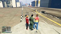 Less ads GTA 5 Online Funny Moments   Hydra Jet Fun, Delirious's Battle Gear!