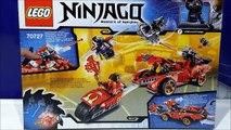 LEGO Ninjago X 1 Ninja Charger 70727 Masters Of Spinjitzu   Activate Interceptor Bike
