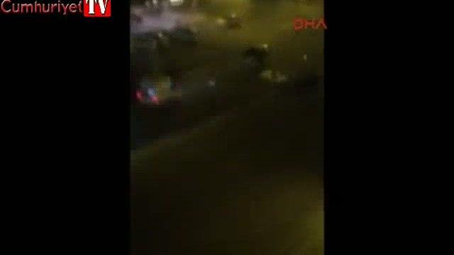 Polis dur ihtarına uymayan çocuğu vurdu