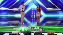 Alex & Sierra - Sultry Cover Of Britney Spears   Toxic  - The X Factor Usa 2013