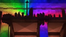Festival of Lights - Berlin - Brandenburger Tor und Hotel Adlon