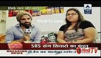 Hrithik Dhanjaani Ne Behan Ke Saath Manaya Rakhi 29th August 2015  Hindi-Tv.Com