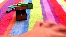 """Unboxing desempaquetado figuras minecraft (se pueden comprar en toys""""R""""us)"""