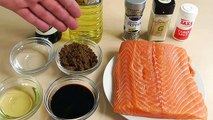 How to make grilled salmon with delicious salmon marinade | salmon recipes | how to cook salmon