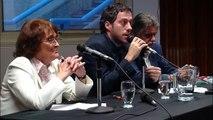 Alcira Argumedo y Horacio Gonzalez - debate en la Biblioteca Nacional