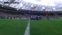 Botha declares the maul! Liam Gill scores for the Barbarians vs. Samoa.