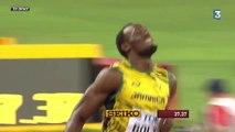 Athlétisme : Bolt et la Jamaïque champions du monde du 4x100m