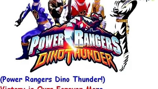 Bản sao của Nhạc phim Khủng long sấm sét Power Rangers Dino Thunder