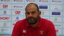 Rugby - Top 14 - La Rochelle : Collazo «Si on repart avec 4 points, c'est pas un hold-up»