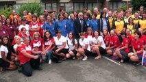 Podium 22ème Championnat du Monde de Pêche au coup pour dames