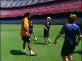 aulas com Ronaldinho Gaucho