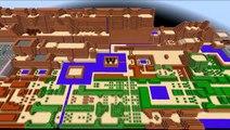 The Legend of Zelda NES Minecraft Map: Start to Level 1 - video