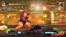 Ultra Street Fighter IV battle: Hugo vs Zangief