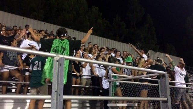 Poway High School First football game 2015