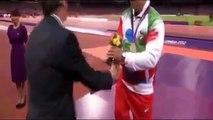 لاعب إيراني يرفض مصافحة الأميرة كيت ميدلتون
