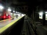 Metro-North Shoreliner Cab ride into Grand Central Terminal, NYC.