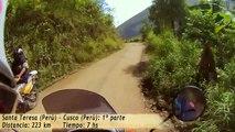 Viaje a Machu Picchu en moto, día 11: Santa Teresa -- Cusco: 1º parte