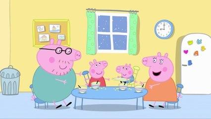 """Peppa Pig En Español, Peppa Pig Y George """"Juguemos En La Nieve"""""""
