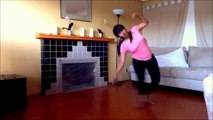 Sun Saathiya choerography - ABCD2 movie song _ Desi Girl Home Dance Video