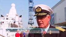 Marine met nieuwste patrouilleschip bij Sail Vlissingen