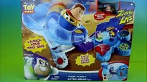 Disney Pixar Toy Story Pizza Planet Astro Arena Playset Sheriff Woody & Buzz Lightyear Battle