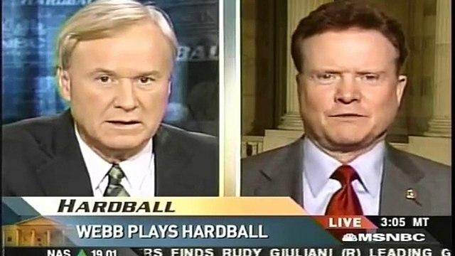 Jim Webb on Hardball 2/7/07