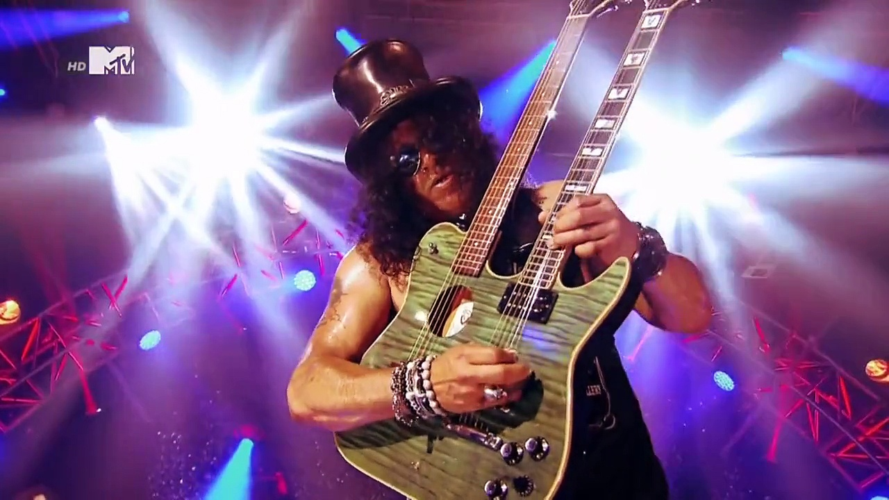 Slash – Anastasia (Slash MTV EMA World Stage) 2014 HD