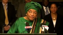 UN Security Council members visit the President of the Republic of Liberia and cabinet members