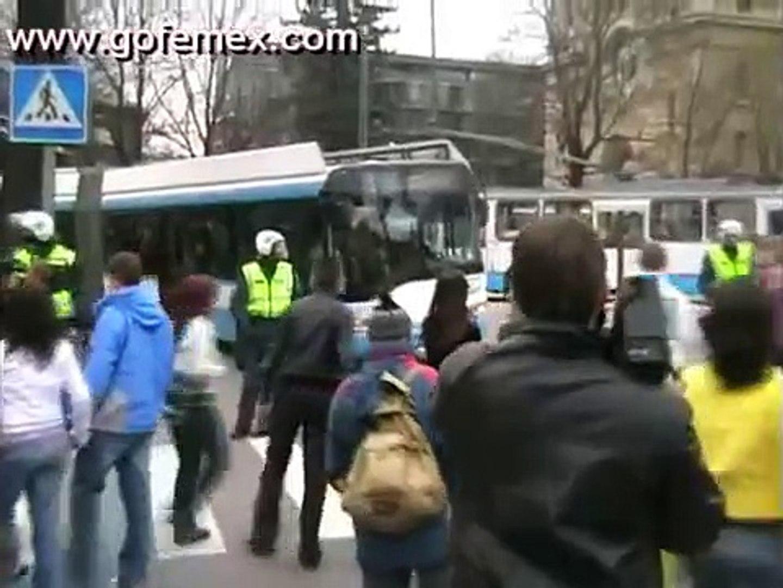 Бронзовый Солдат, Таллинн, митинг 26.04.2007 Part 2