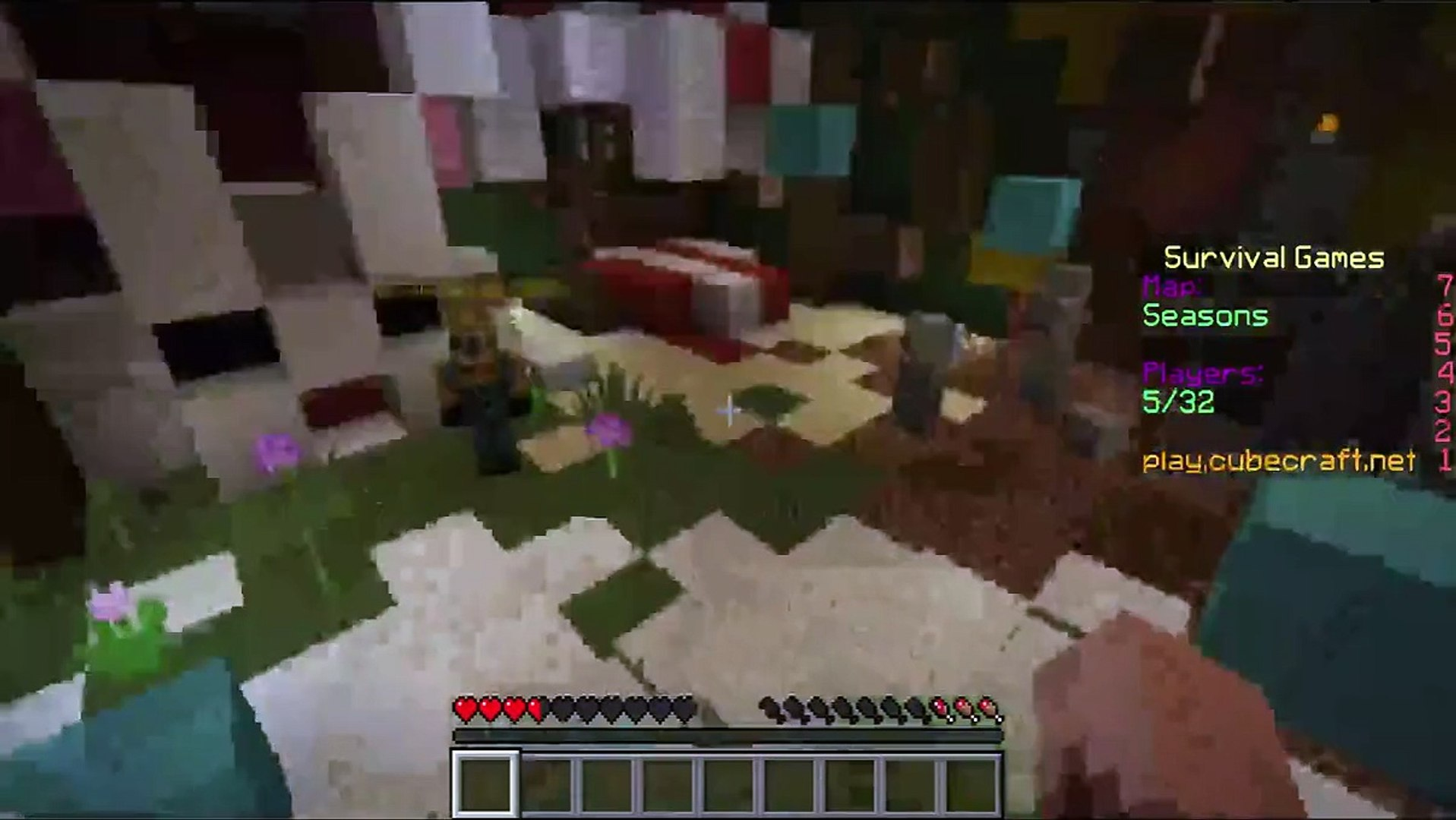 Minecraft - Glitches in servers.. #1