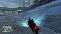 Stunt en moto GTA 5