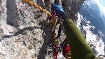 BASE jump, wingsuit fly, ingushetia cei-loam (штурм)
