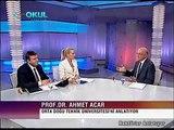 """ODTÜ Rektörü Prof.Dr. Ahmet Acar TRT Okul kanalı - """"Rektörler Anlatıyor"""" programında"""