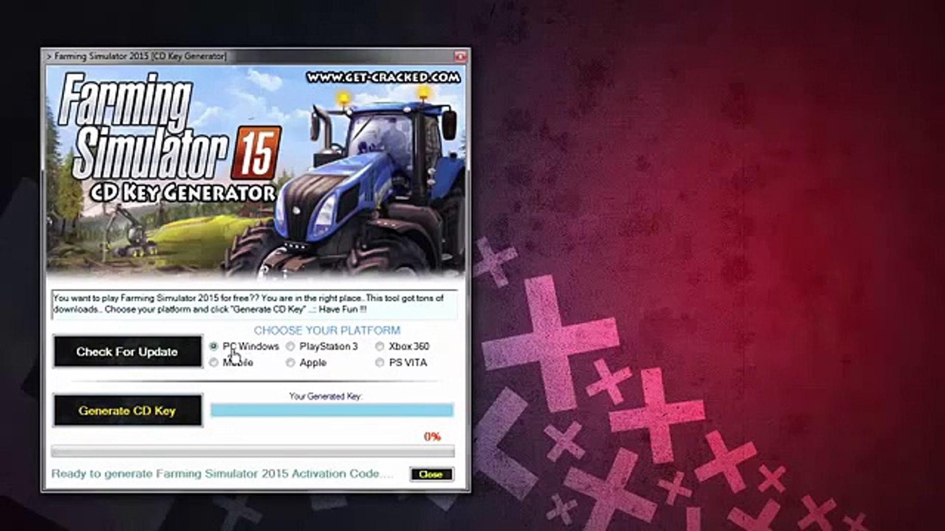 Farming Simulator 2015 CD Key Generator (NEW)