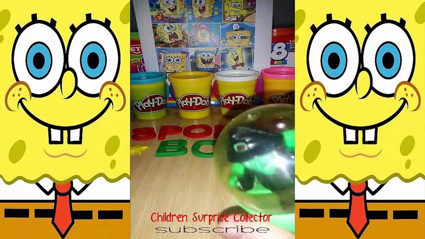 Play Doh Peppa Pig english episodes Frozen Shopkins Kinder Surprise Eggs Spongebob Tom and Jerry