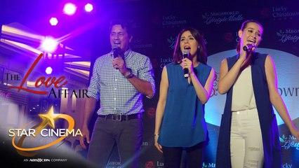 Richard, Dawn, Bea serenade fans at 'The Love Affair' mall shows