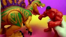 Marvel Avengers Assemble Red Hulk Rage Vs  Incredible HULK and Toy Story Sarge's helicopte