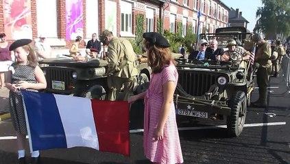 Sin et Dechy à la mode 1944 pour leur Libération