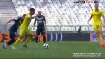 Wahbi Khazri Incredible Panenka Penalty Miss   Girondins Bordeaux v. Nantes 30.08.2015 HD