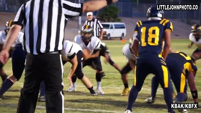 Kern High School Football - Boron Highlights - 08 - 28- 15