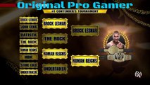 WWE 2k15 (Gold rush tournament) - the final