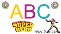 Nursery Rhymes SuperHeroes Spiderman Hulk Alphabet Songs ABC Iron Man