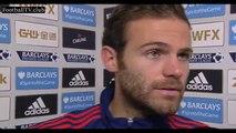Swansea vs Manchester United 2 : 1 - Juan Mata post-match interview