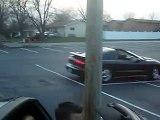 02' Trans Am WS6 doing donuts + COPS!